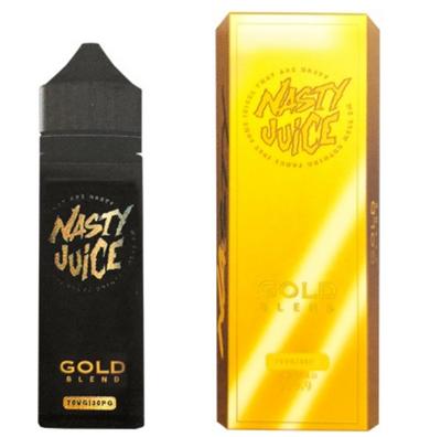 Gold Blend E Liquid (Nicotine Free) 50ml by Nasty Juice Tobacco Series