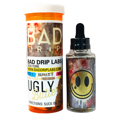 Ugly Butter E Liquid 60ml by Bad Drip Labs Only £16.99 (Zero Nicotine)