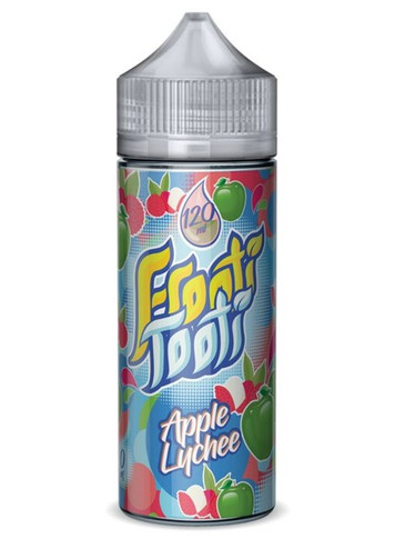 Apple Lychee E Liquid 100ml Shortfill by Frooti Tooti E Liquids Only £9.99 (FREE NICOTINE SHOTS)