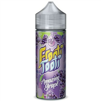 Amazing Grape E Liquid 100ml Shortfill by Frooti Tooti E Liquids Only £9.99 (FREE NICOTINE SHOTS)