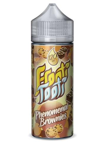Phenomenal Brownies E Liquid 100ml Shortfill (120ml with 2 x 10ml nicotine shots to make 3mg) by Frooti Tooti E Liquids Only £12.99 (FREE NICOTINE SHOTS)