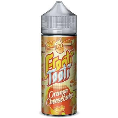 Orange Cheesecake E Liquid 100ml Shortfill by Frooti Tooti