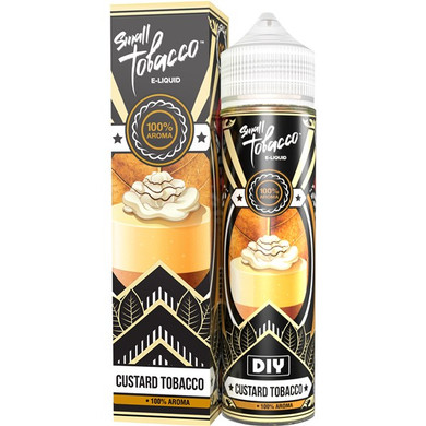 Custard Tobacco Eliquid(120ml with 2 x 10ml nicotine shots to make 3mg) by Small Tobacco E Liquid Only £18.99 (Zero Nicotine)