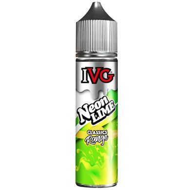 Neon Lime E Liquid 50ml by I VG E Liquids Classic Range Only £10.99 (Zero Nicotine)