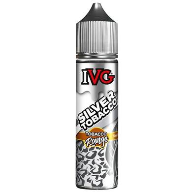 Silver Tobacco E Liquid 50ml by I VG Tobacco Range Only £10.99 (Zero Nicotine)