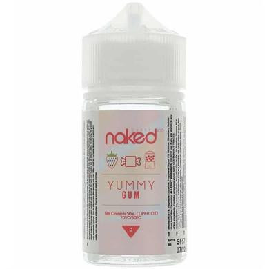Yummy Gum E Liquid 50ml by Naked 100