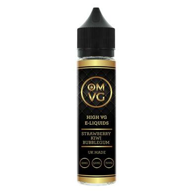 Strawberry Kiwi Bubble Gum Shortfill E Liquid 50ml by OMVG (FREE NICOTINE SHOT)