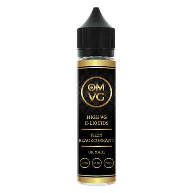 Fizzy Blackcurrant Shortfill E Liquid 50ml by OMVG (FREE NICOTINE SHOT)