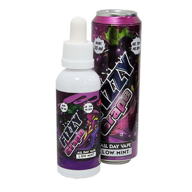 Fizzy Grape E Liquid 55ml (65ml with 1 x 10ml nicotine shots to make 3mg)Shortfill by Mohawk & Co