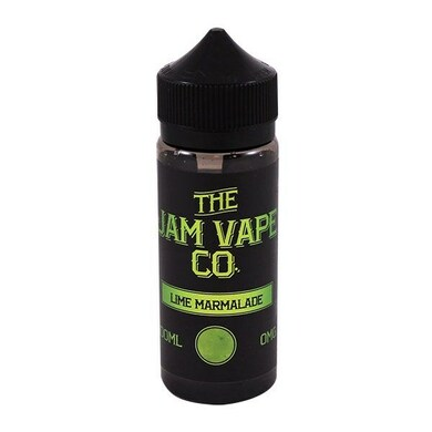 Lime Marmalade E Liquid 100ml (120ml with 2 x 10ml nicotine shots to make 3mg)Shortfill By Jam Vape Co