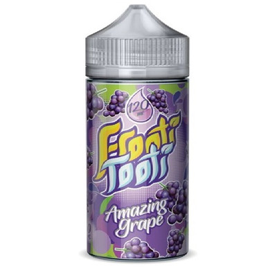 Amazing Grape E Liquid 200ml Shortfill (240ml with 4 x 10ml nicotine shots to make 3mg) by Frooti Tooti E Liquids Only £19.99 (FREE NICOTINE SHOTS)