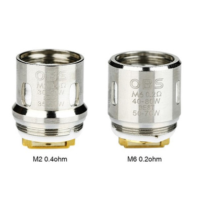 5 Pack OBS Cube Coil Heads M1 M6