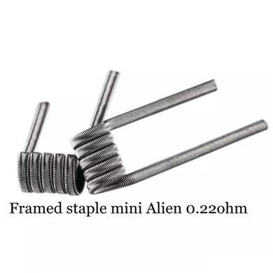 Framed Staple Mini Alien 0.22 Ohms Coils