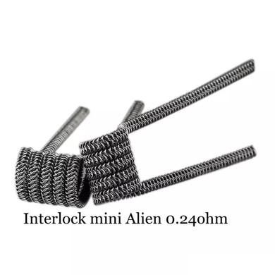 Interlock Mini Alien Prebuilt Wire Set Ni80 0.24 Ohms