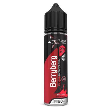 Superstar Vapes Berryberg Premium High VG (70/30) E Liquid 50ml