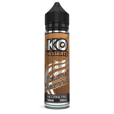 Caramel Creamnut E Liquid 50ml by KO Vapes (Includes Free Nicotine Shot)