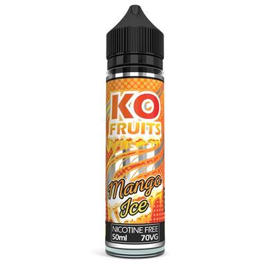 Mango Ice E Liquid 50ml by KO Vapes (Includes Free Nicotine Shot)