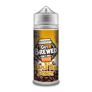 Maple Bar Donut E Liquid (Zero Nicotine & Free Nic Shots to make 120ml/3mg) by Get Brewed