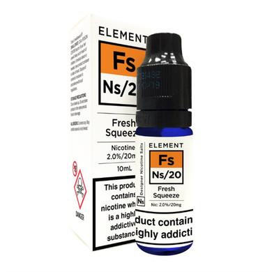 Fresh Squeeze - Element NS20 - 20mg Nicotine Salts E Liquid - 10ML