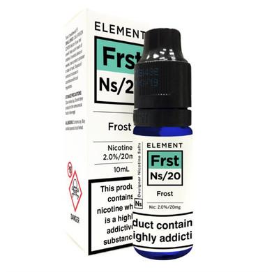 Frost - Element NS20 - 20mg Nicotine Salts E Liquid - 10ML