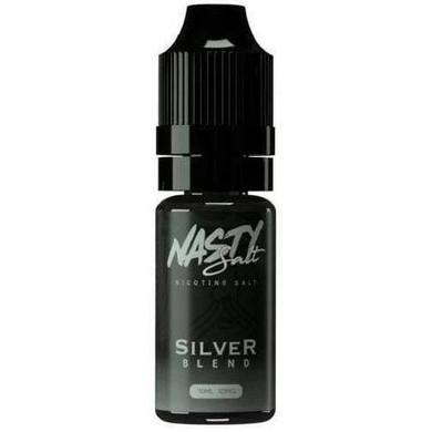 Silver Blend Nic Salt E Liquid 10ml By Nasty Salt