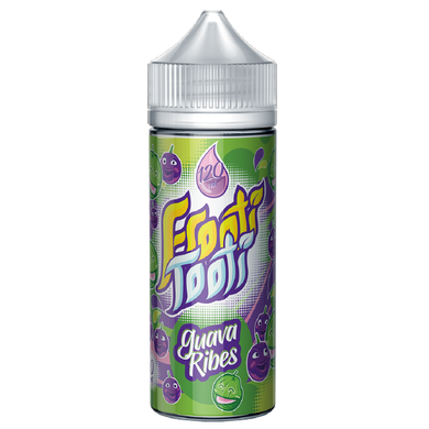 Guava Ribes E Liquid 100ml Shortfill (120ml with 2 x 10ml nicotine shots to make 3mg) by Frooti Tooti E Liquids Only £12.99 (FREE NICOTINE SHOTS)