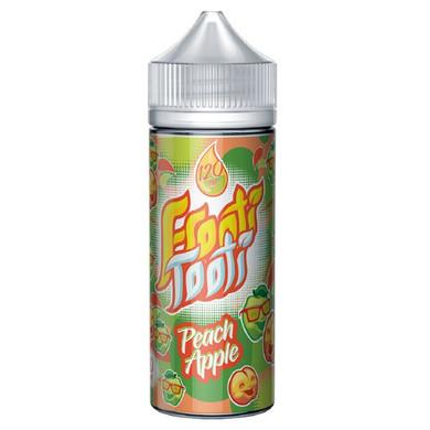 Peach Apple E Liquid 100ml Shortfill (120ml with 2 x 10ml nicotine shots to make 3mg) by Frooti Tooti E Liquids Only £12.99 (FREE NICOTINE SHOTS)