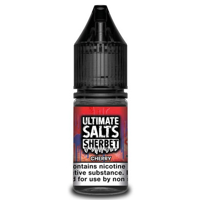 Cherry Sherbet 10ml Nic Salt E Liquid By Ultimate Salts