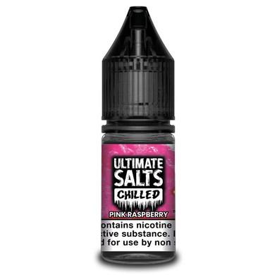Pink Raspberry Chilled - Ultimate Salts - 10ml Nic Salts