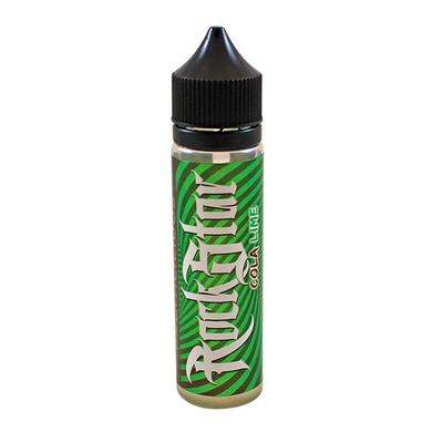 Cola Lime E-Liquid 50ml (60ml with 1 x 10ml 18mg Nicotine Shot making 3mg liquid) Shortfill by Rockstar Vape