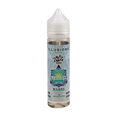 Mamba E Liquid 50ml Short Fill 0mg (60ml with 1 x 10ml 18mg Nicotine Shot making 3mg liquid) by Illusions Vapor