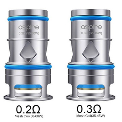 3 Pack Aspire Odan Atomizer Coil Heads Variations