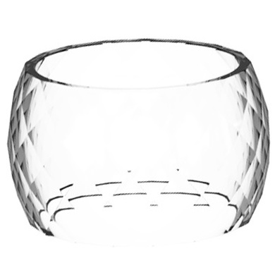Aspire Odan Mini 4ml Diamond Profile Replacement Glass