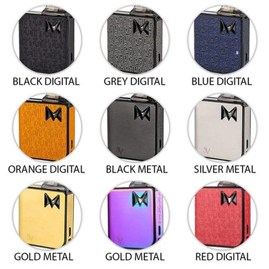 Mi Pod Refillable Starter Kit Colour Options