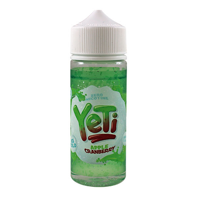 Apple Cranberry Ice Cold E Liquid 100ml by Yeti