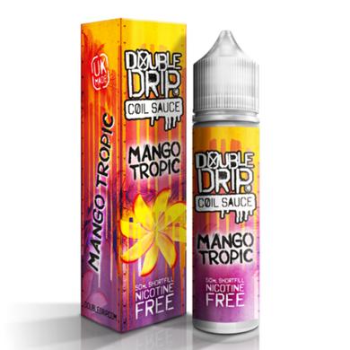 Mango Tropic E Liquid 50ml by Double Drip Coil Sauce Only £9.99 (INC Free Nic Shots or Zero Nicotine)