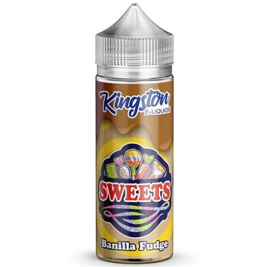 Banilla Fudge E Liquid 100ml by Kingston Sweets