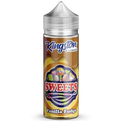 Vanilla Fudge E Liquid 100ml by Kingston Sweets E Liquids
