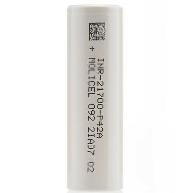 Molicel INR 21700 P42A 4200 mah 30a Battery