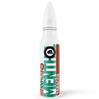 Tobacco Menthol E Liquid 50ml by Riot Squad  £9.99 inc Free Nic Shot