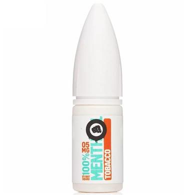 Tobacco Menthol Hybrid Salt E Liquid 10ml by Riot Squad