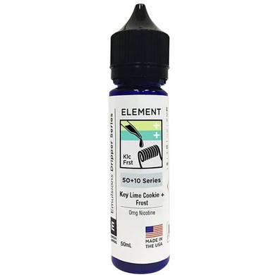 Key Lime Cookie & Frost E Liquid 50ml Shortfill by Element Mix Series