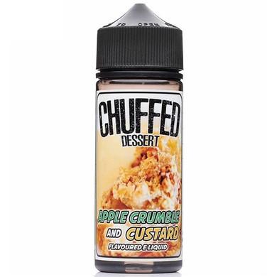 Apple Crumble & Custard E Liquid 100ml by Chuffed Desserts