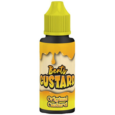 Original Custard E Liquid 100ml by Berts Custard