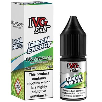 Green Energy Crushed Nic Salt E Liquid 10ml By I VG