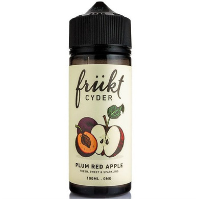 Plum Red Apple E Liquid 100ml by Frukt Cyder