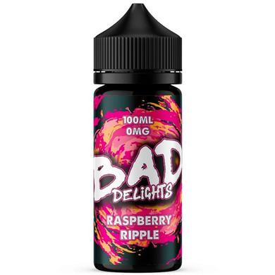 Raspberry Ripple E Liquid 100ml by Bad Juice