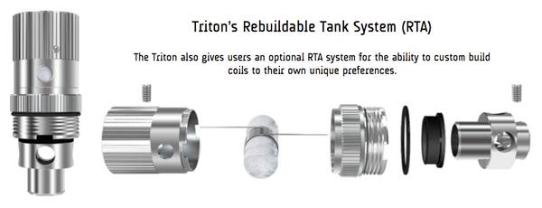 Aspire Triton RTA Kit Parts