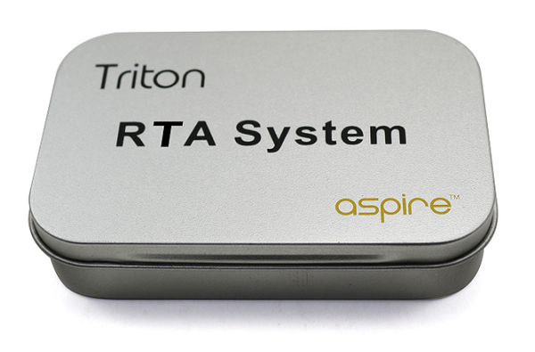 Aspire Triton RTA Kit packaging