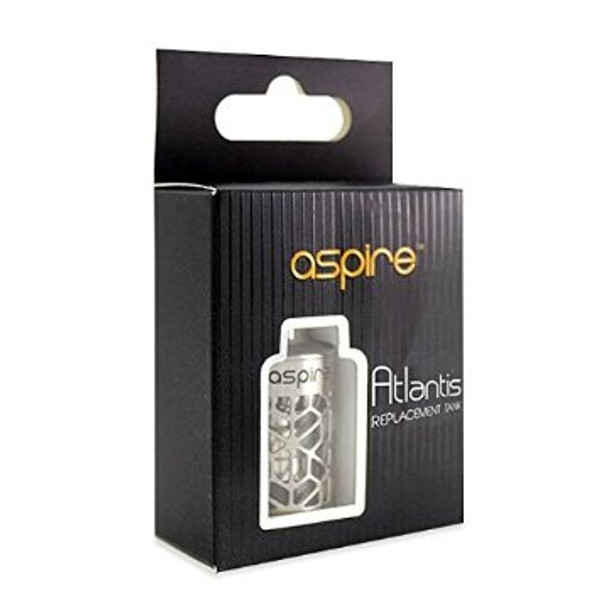 Aspire Atlantis Tank Assy With Hollowed Out Stainless Steel Sleeve